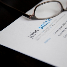 Resume on a table